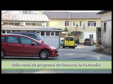 Grila nouă de programe de formare, la Faxmedia