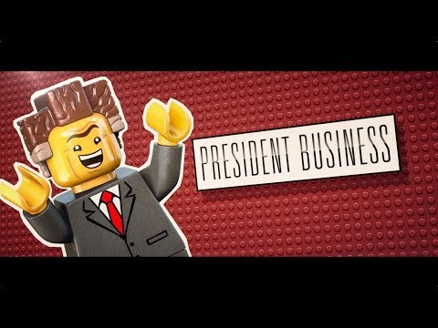 The Lego Movie (Character Profile 'Meet President Business')