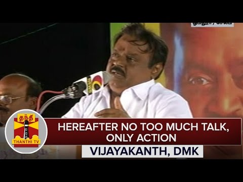 TN-Elections-2016--Hereafter-No-Talk-Only-Action--Vijayakanth-DMDK-Chief