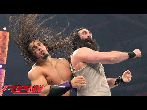 Neville vs. Luke Harper – King of the Ring First Round Match: Raw, April 27, 2015