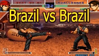 kbecinha (Brazil) vs andre-kofcuiaba (Brazil) Arclive 平台 KOF 2002 Online the king of fighters 2002 SupArcLive