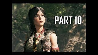 Shadow of the Tomb Raider Walkthrough Part 10 - Outcasts (Let's Play Gameplay Commentary)