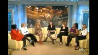 Beyonce on The View Part 1 11/23/10