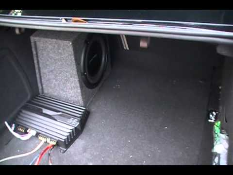 Pioneer 1000 Watt Subwoofer in Audi