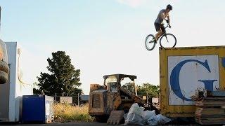 The Newest Extreme Sport? Industrial Biking