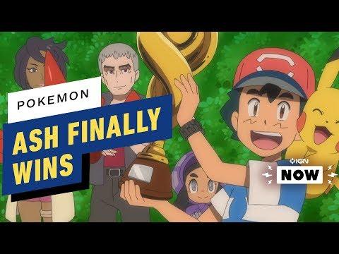 Ash Ketchum Becomes a Pokemon League Champion - IGN Now