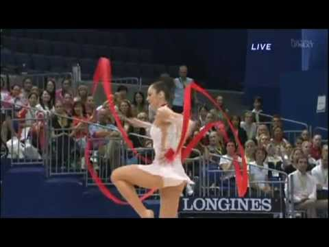 RG - Individual Apparatus Final Ribbon Rank2 Total 27.900 29th Rhythmic Gymnastics World Championships 2009 in Mie (Japan)