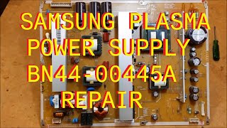 Find the correct TV part for your TV and more at ShopJimmy.com Click Here: http://bit.ly/ShopJimmyRepairing a Samsung Power Supply Board with Power Factor Correction Circuit Failure