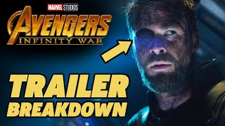 Avengers Infinity War Trailer Breakdown!