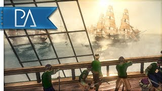 THUNDER OF THE SANTISSIMA TRINIDAD  - Darth Mod - Napoleon Total War Gameplay - Today we have a 3v3 online naval battle. Also we will see a massive ship in action. The Santissima Trinidad, armed with 140 guns and about 400 crew (in game).  She is a beautiful Spanish Lady :) Enjoy the Battle!JOIN MY DISCORD SERVER: https://discord.gg/JjR7UR3If you enjoyed the video don't forget to Like and Leave a comment :D-----------------------------------------PA Merchandise---------------------------------------------BUYING A SHIRT WILL SUPPORT A CHARITY!Represent the Knight's of Apollo!Buy a T-shirt Here: https://teespring.com/stores/pixelated-apollo----------------------------------How You Can Support Me! ------------------------------------ Like, share and leave a comment :D- Turn OFF adblock or whitelist my channel- Send me a GREAT battle Replay: pixelatedapollo@gmail.com- Purchase a Server at: https://oasis-hosting.net/ and use this discount code - PA2017 ------------------------------------------Connect With Me!------------------------------------------ Email: pixelatedapollo@gmail.com- Twitter: https://twitter.com/PixelatedApollo- Steam Group:  http://steamcommunity.com/groups/apollosknights- Twitch: http://www.twitch.tv/pixelatedapollo
