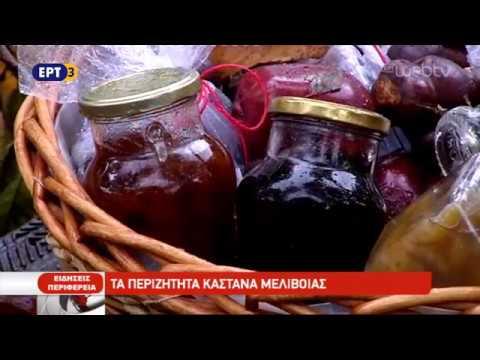Τα περιζήτητα κάστανα Μελιβοίας | 23/10/2018 | ΕΡΤ