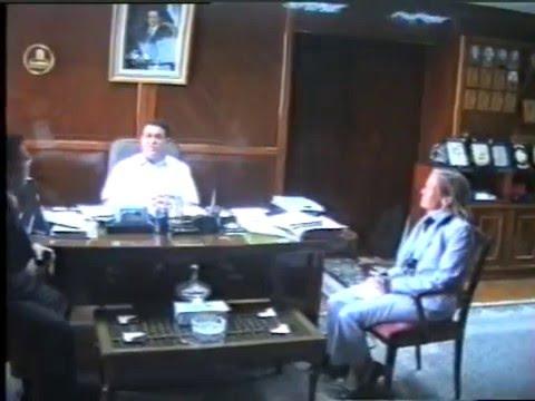 Dr Tarek Elabsy and Kafr Eshayekh Governor General Ahmed Zaki Abdeen