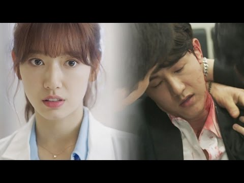 Park Shin hye, first appearance as a doctor fighting with gangster 《The Doctors》 닥터스 EP01