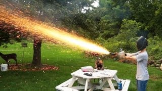 Various Sized Hand Held Sparkler Rockets and How To