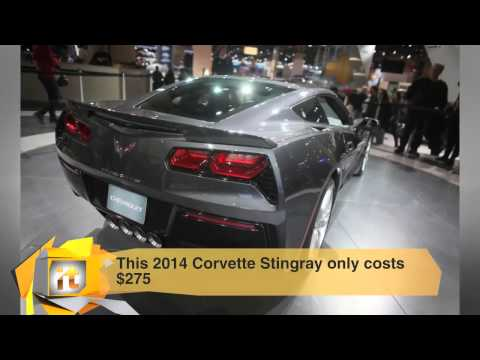 Technology News – This 2014 Corvette Stingray Only Costs $275