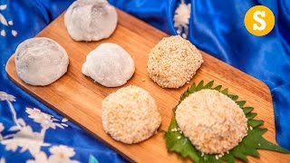 Red Bean Mochi Recipe - SORTED Eats Japan by SORTEDfood