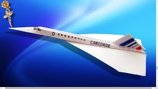 Video Origami : ✈️ Avion « Concorde » MP3, 3GP, MP4, WEBM, AVI, FLV Juli 2017