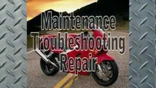 10. Clymer Manuals Honda VFR800FI Interceptor Maintenance Repair Shop Service VFR Manual Video