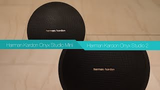 Harman Kardon Onyx Studio Mini vs Harman Kardon Onyx Studio2 | Bluetooth Speaker Review