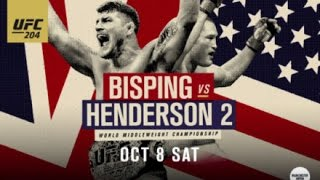Nonton Ufc 204 Bisping V Henderson 2 Fight Predictions  Film Subtitle Indonesia Streaming Movie Download