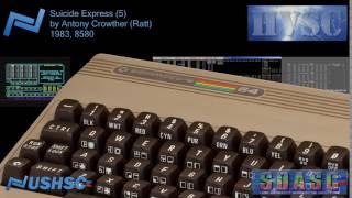 Suicide Express (5) - Antony Crowther (Ratt) - (1983) - C64 chiptune