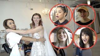 Video VLOG SQUAD GIRLS PICK OUT HER WEDDING DRESS!! MP3, 3GP, MP4, WEBM, AVI, FLV Juli 2019
