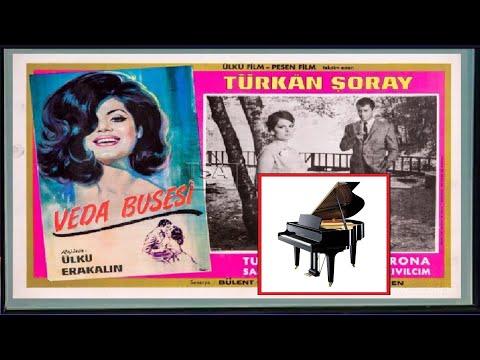 Piyano Sinema Fim Müziği VEDA BUSESİ, Türk Sanat Müziği, Nostalji Eserleri Konseri, En Güzel Türkü-Şarkılar