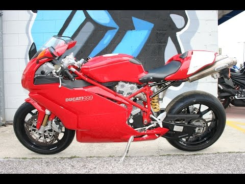 2005 Ducati 999 Monoposto ... Sounds great with Remus Exhaust!