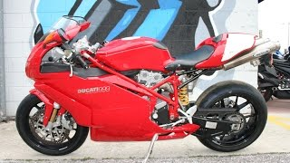 5. 2005 Ducati 999 Monoposto ... Sounds great with Remus Exhaust!