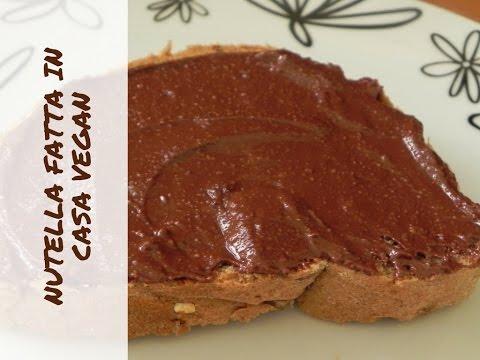 ricetta semplice nutella vegana