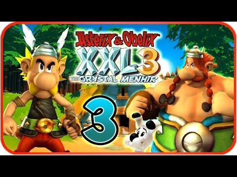 Asterix & Obelix XXL 3: The Crystal Menhir Walkthrough Part 3 (PS4) Chapter 3 - Tyre
