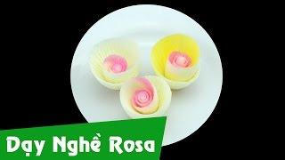 Cạo socola - Cạo hoa hồng cánh nhỏ - Bài 7