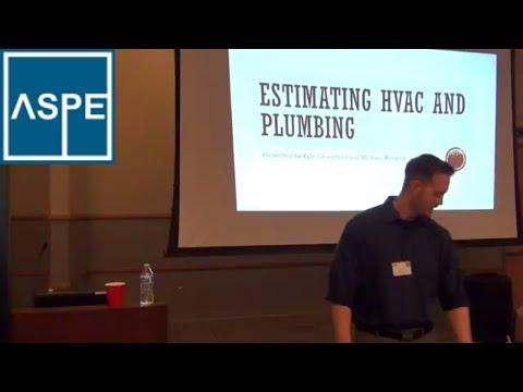 HVAC Estimating, Plumbing Estimating, ASPE Chapter 32 Kansas City Estimators