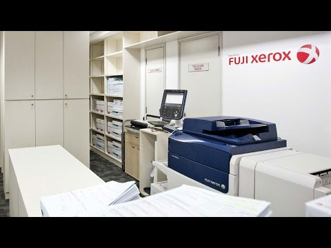 Fuji Xerox Managed Print Services (MPS) Case Study | Arcadis