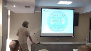 Lecture – Workshop for Masters. Professor Michael Dennis, University of Bristol, UK. Part 1