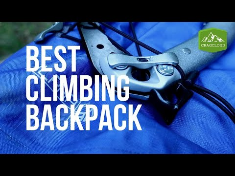 How to choose the BEST climbing backpack (2019) | Climbing Vlog Ep. 10
