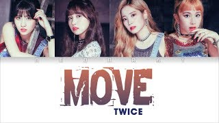 Video TWICE - MOVE(TAEMIN) Cover (Studio Ver.) [Color Coded Han/Rom/Eng Lyrics] MP3, 3GP, MP4, WEBM, AVI, FLV Maret 2019