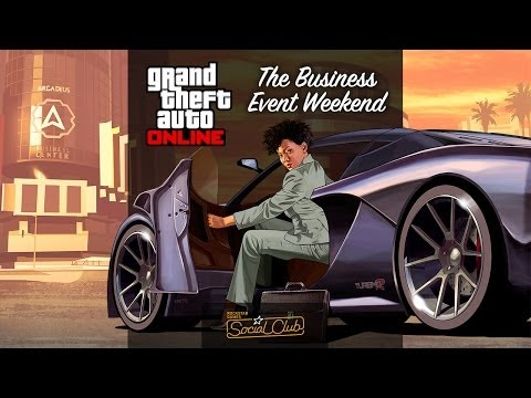 GTAV The Business Event Weekend Live Stream