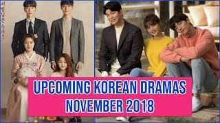 Video 12 Upcoming Korean Dramas November 2018 MP3, 3GP, MP4, WEBM, AVI, FLV November 2018