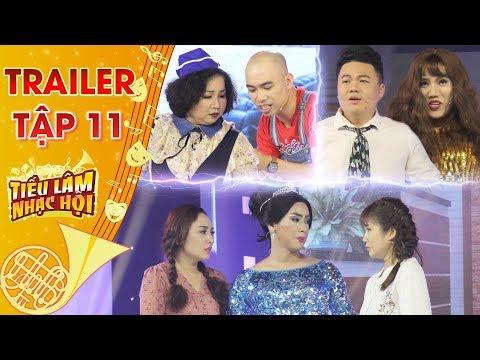 Tiếu lâm nhạc hội | Trailer tập 11: Duy Khương & Hoàng Phúc giả gái - kẻ tám lạng, người nửa cân - Thời lượng: 2 phút, 32 giây.