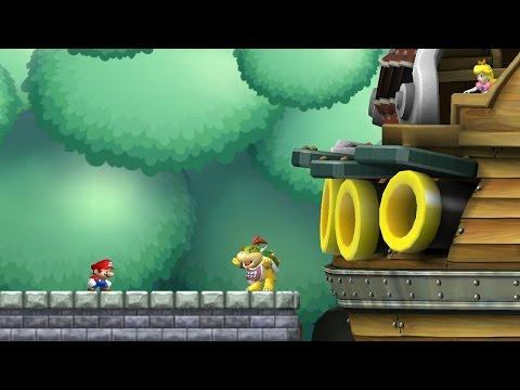 New Super Mario Bros. Wii - World 5 (Complete) (видео)