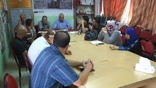 """اجتماع تحضيري لحملة """" لستم وحدكم """" في جمعية المزارعين الفلسطينيين"""