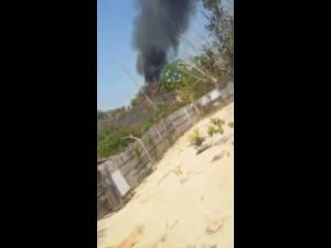 Incêndio em Sena Madureira - - AC