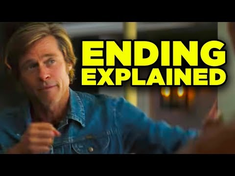 Once Upon A Time In Hollywood ENDING EXPLAINED! (Tarantino Timeline!)