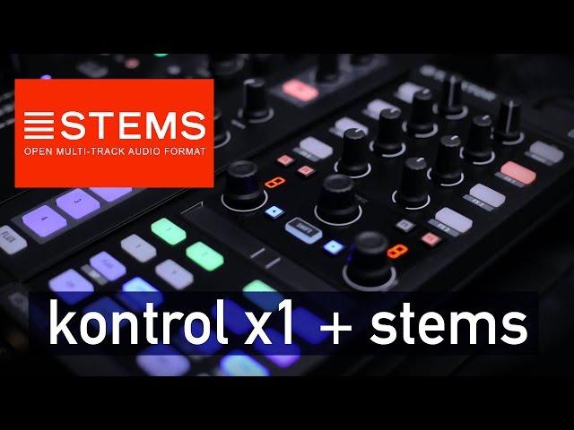 Manejar y mapear Kontrol X1 para usar los Stems
