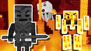 I WENT TO THE NETHER in Minecraft Hardcore!! [#13]