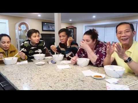 Vlog 140 ll Bánh Canh BÀ NĂM Chicago, Bà Xã Tự Làm Bột Bánh Canh Và Anh Em Hàn Huyên - Thời lượng: 20:30.