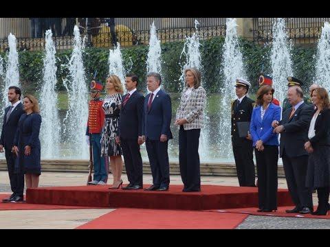 Visita de Estado de Enrique Peña Nieto a la República de Colombia: Ceremonia Oficial de Bienvenida
