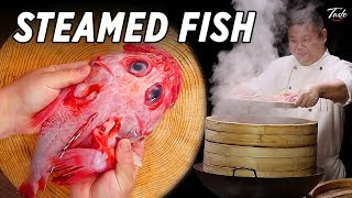 Video The Tastiest Steamed Fish You'll Ever Eat • Taste The Chinese Recipes Show MP3, 3GP, MP4, WEBM, AVI, FLV Mei 2019
