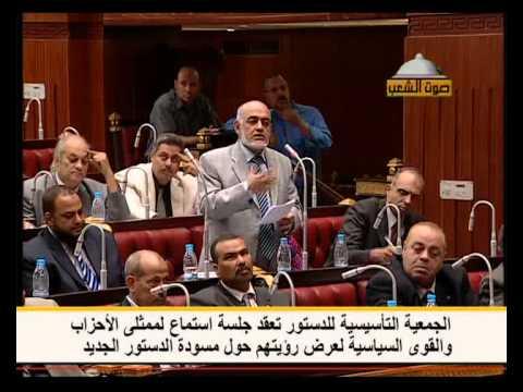 من الأرشيف| مجدي قرقر: الدستور الجديد يجب أن يحقق أهداف ثورة يناير